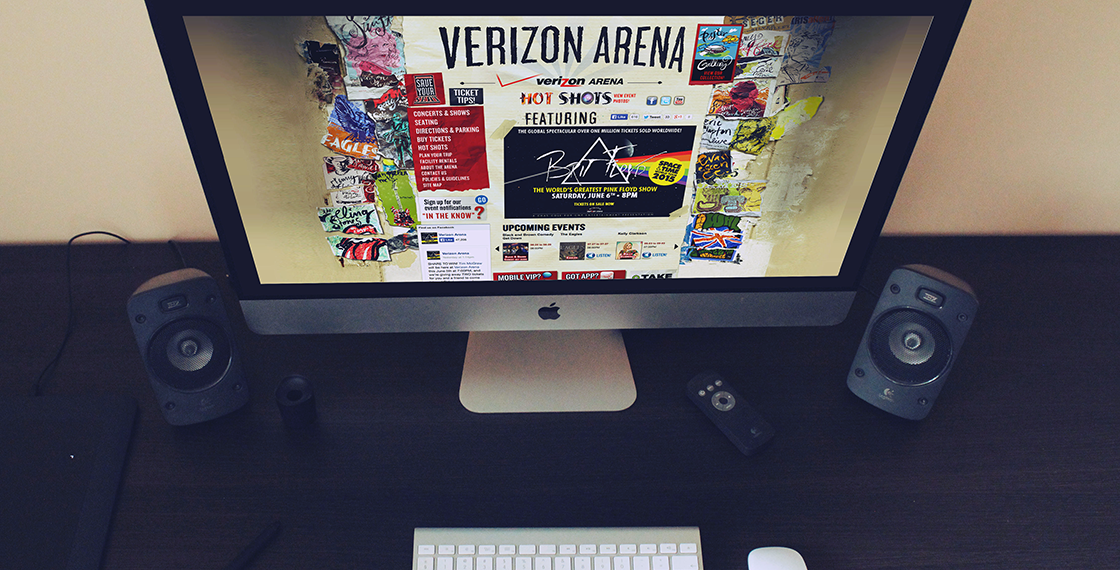 Verizon Arena Website
